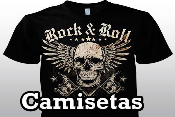 Camisetas Rockeras Heavy Metal
