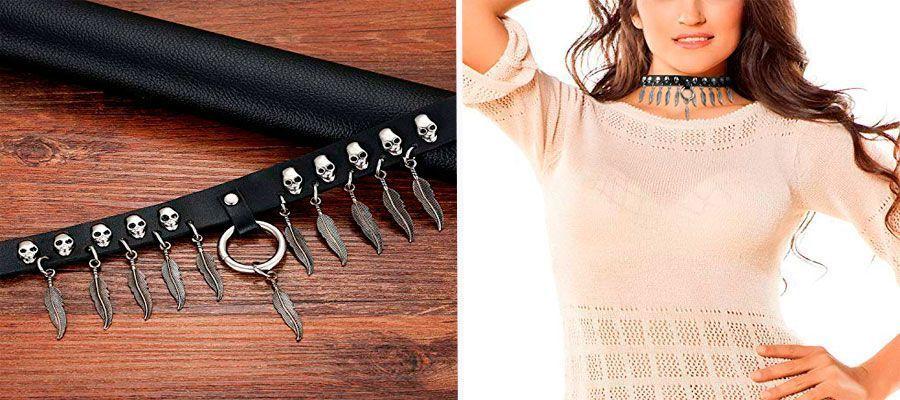 comprar collares de cuero