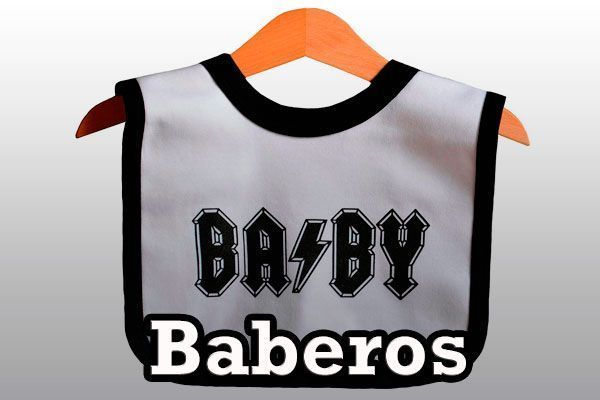 Baberos Rockeros Heavy Metal
