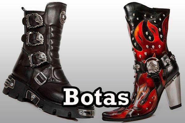 Botas Rockeras roqueras heavys