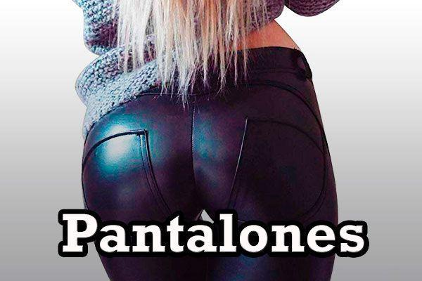 Pantalones Rockera Mujer Heavy Metal