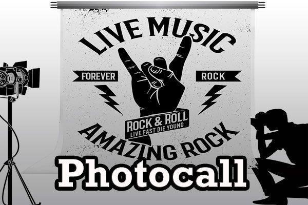 Photocall Rockero Comprar