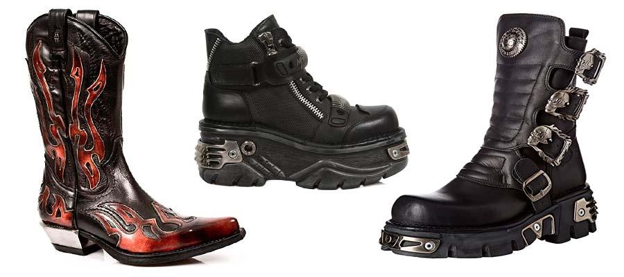 Botas Rockeras Mosqueteras Botines Zapatos Deportivas