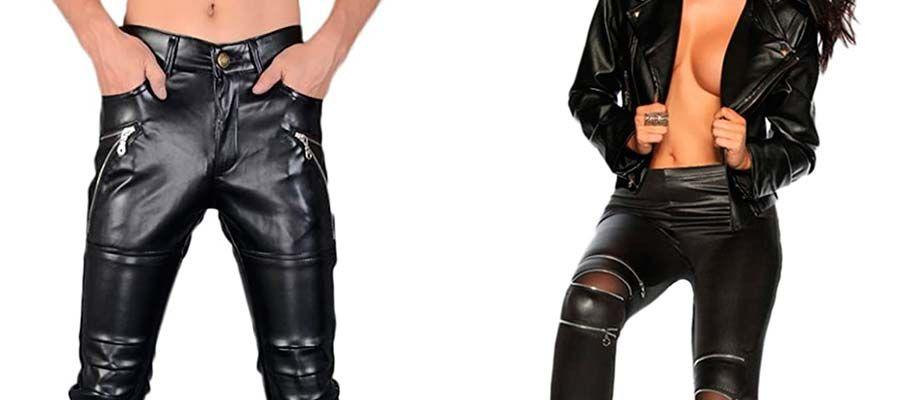 Pantalones Cuero Rockeros Comprar